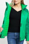 Оптом Куртка демисезонная 3 в 1 зеленого цвета 33213Z в Екатеринбурге, фото 13