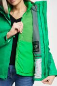 Оптом Куртка демисезонная 3 в 1 зеленого цвета 33213Z в Екатеринбурге, фото 14