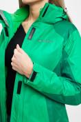 Оптом Куртка демисезонная 3 в 1 зеленого цвета 33213Z в Екатеринбурге, фото 15