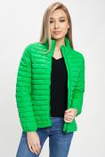 Оптом Куртка демисезонная 3 в 1 зеленого цвета 33213Z в Екатеринбурге, фото 6