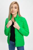Оптом Куртка демисезонная 3 в 1 зеленого цвета 33213Z в Екатеринбурге, фото 12