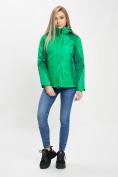 Оптом Куртка демисезонная 3 в 1 зеленого цвета 33213Z в Екатеринбурге, фото 2