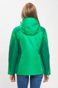 Оптом Куртка демисезонная 3 в 1 зеленого цвета 33213Z в Екатеринбурге, фото 7