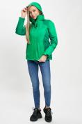 Оптом Куртка демисезонная 3 в 1 зеленого цвета 33213Z в Екатеринбурге, фото 9