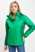 Оптом Куртка демисезонная 3 в 1 зеленого цвета 33213Z в Екатеринбурге, фото 10