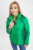 Оптом Куртка демисезонная 3 в 1 зеленого цвета 33213Z в Екатеринбурге, фото 11