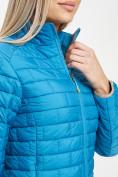 Оптом Стеганная куртка синего цвета 33310S в Екатеринбурге, фото 10