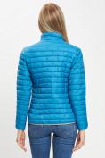 Оптом Стеганная куртка синего цвета 33310S в Екатеринбурге, фото 8