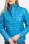 Оптом Стеганная куртка синего цвета 33310S в Екатеринбурге, фото 7