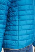 Оптом Стеганная куртка синего цвета 33310S в Екатеринбурге, фото 9