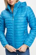 Оптом Стеганная куртка синего цвета 33315S в Екатеринбурге, фото 10