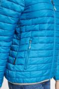 Оптом Стеганная куртка синего цвета 33315S в Екатеринбурге, фото 11