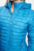 Оптом Стеганная куртка синего цвета 33315S в Екатеринбурге, фото 12
