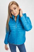 Оптом Стеганная куртка синего цвета 33315S в Екатеринбурге, фото 13