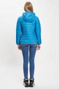 Оптом Стеганная куртка синего цвета 33315S в Екатеринбурге, фото 6