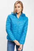 Оптом Стеганная куртка синего цвета 33315S в Екатеринбурге, фото 9