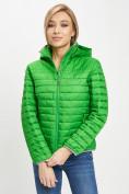 Оптом Стеганная куртка зеленого цвета 33315Z в Екатеринбурге, фото 3