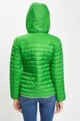 Оптом Стеганная куртка зеленого цвета 33315Z в Екатеринбурге, фото 7