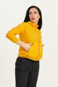 Оптом Ветровка спортивная Valianly женская желтого цвета 33417J в Екатеринбурге, фото 8