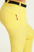 Оптом Спортивные брюки Valianly женские желтого цвета 33419J в Екатеринбурге, фото 7