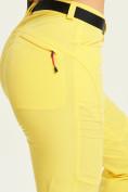 Оптом Спортивные брюки Valianly женские желтого цвета 33419J в Екатеринбурге, фото 8
