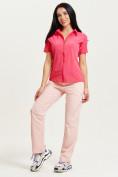 Оптом Спортивные брюки Valianly женские розового цвета 33419R в Екатеринбурге, фото 8