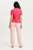 Оптом Спортивные брюки Valianly женские розового цвета 33419R в Екатеринбурге, фото 10