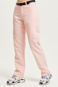 Оптом Спортивные брюки Valianly женские розового цвета 33419R в Екатеринбурге, фото 2
