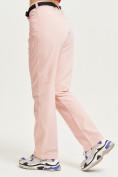 Оптом Спортивные брюки Valianly женские розового цвета 33419R в Екатеринбурге, фото 3