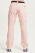 Оптом Спортивные брюки Valianly женские розового цвета 33419R в Екатеринбурге, фото 4