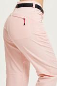Оптом Спортивные брюки Valianly женские розового цвета 33419R в Екатеринбурге, фото 5