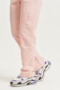 Оптом Спортивные брюки Valianly женские розового цвета 33419R в Екатеринбурге, фото 7