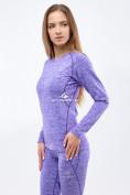 Оптом Термобелье женское фиолетового цвета 3478F, фото 2