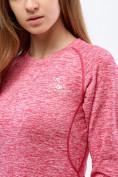 Оптом Термобелье женское розового цвета 3478R, фото 5