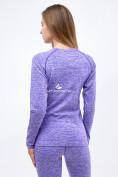 Оптом Термобелье женское фиолетового цвета 3478F, фото 3