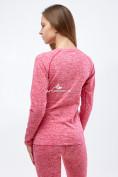 Оптом Термобелье женское розового цвета 3478R, фото 3