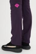 Оптом Брюки softshell темно-фиолетового цвета 371TF в Екатеринбурге, фото 10