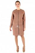 Оптом Пальто женское бежевого цвета 373B, фото 3