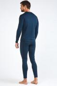Оптом Термобелье мужское темно-синего цвета 3795TS в Нижнем Новгороде, фото 4