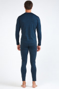 Оптом Термобелье мужское темно-синего цвета 3795TS в Нижнем Новгороде, фото 5