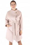 Оптом Пальто женское бежевого цвета 380B, фото 3