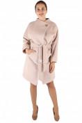 Интернет магазин MTFORCE.ru предлагает купить оптом пальто женское бежевого цвета 380B по выгодной и доступной цене с доставкой по всей России и СНГ