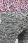 Оптом Брюки легинсы женские фиолетового цвета 3919F в Казани, фото 5