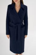 Оптом Пальто демисезонное темно-синего цвета 4057TS в Екатеринбурге, фото 10
