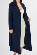 Оптом Пальто демисезонное темно-синего цвета 4057TS в Екатеринбурге, фото 12