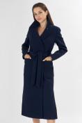 Оптом Пальто демисезонное темно-синего цвета 4057TS в Екатеринбурге, фото 6