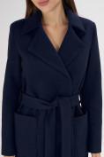 Оптом Пальто демисезонное темно-синего цвета 4057TS в Екатеринбурге, фото 8