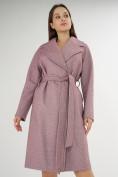 Оптом Пальто демисезонное фиолетового цвета 42038F в Екатеринбурге, фото 10