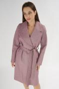 Оптом Пальто демисезонное фиолетового цвета 42038F в Екатеринбурге, фото 7