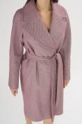Оптом Пальто демисезонное фиолетового цвета 42038F в Екатеринбурге, фото 8